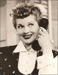 I love Lucy reruns just before bedtime..