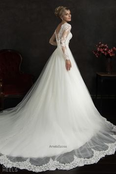 Amelia Sposa 2015 Wedding Dresses / Heart Over Heels
