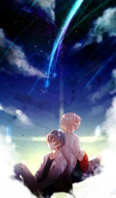Mafumafu et Soraru Chibi Boy, Anime Chibi, Kawaii Anime, Manga Anime, Manga Cute, Cute Anime Guys, Anime Boys, Anime Galaxy, Fanart