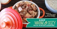 Power up your day with Ancient Harvest Quinoa or supercharge your dinners with Ancient Harvest Bean & Lentil Pasta, and enter to win a brand new Le Creuset set!