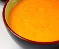 Receitas - Sopa de cenoura - Petiscos.com