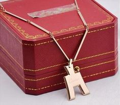 Cartier Pink Gold Pendant On A Chain