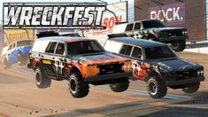 Monster Volvo (Hammerhead) and 4 custom tracks with ramps! Trying out The MonsterHammer mod for Wreckfest. This mod was originally made for the Monster Hamme. Volvo, Monster Trucks, Channel, Gaming, Cars, Live, Youtube, Videogames, Autos