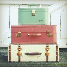 Suitcases, suitcases, suitcases!