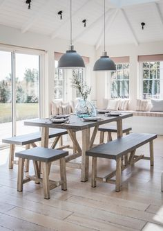 Our stunning industrial Cement Fibre Dining Table and Bench Set is the perfect solution for those looking for an trendy edge for their kitchen, dining room or even garden.