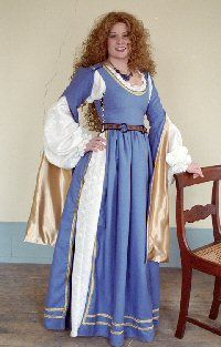 Venetian Dress: Renaissance Costumes, Medieval Clothing, Madrigal Costumes by The Tudor Shoppe