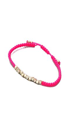 Shashi Neon Nugget Bracelet | SHOPBOP