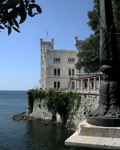 Castello di Miramare, Trieste, Italy  Photography by Karl Seitinger
