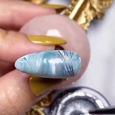 Diy Acrylic Nails, Gel Nail Art, Nail Art Diy, Nail Polish, Nail Art Designs Videos, Nail Art Videos, Nail Designs, Nagellack Trends, Grey Gel Nails