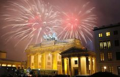 Fireworks Brandenburg Gate