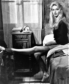 "missbrigittebardot: "" Brigitte Bardot in ""Love is my profession"", 1957 """