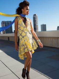 Spring Fashion: Get High On Sheer Looks - Honolulu Magazine - March 2014 - Hawaii