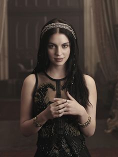 Adelaide Kane as Queen Mary on 'Reign'