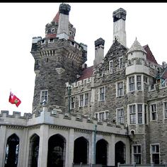 Casa Loma. The Annex.