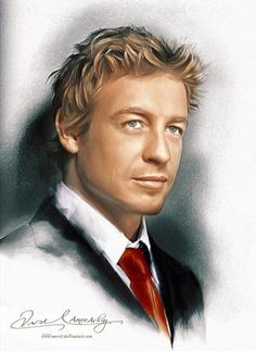 Patrick Jane The Mentalist by Amro Ashry - Advanced Photoshop
