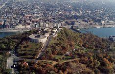 Budapest.Gellérthegy a Citadellával