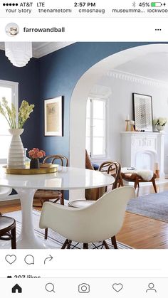 ginny_macdonald_dining_table | ginnyhome | pinterest | traditional