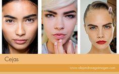 Los expertos coinciden en afirmar que las cejas son el marco del rostro. Por esta razón, es muy importante llevarlas diseñadas de acuerdo al tipo de rostro de cada persona y para esta temporada las vemos bien marcadas.