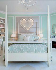 Perfekt Schlafzimmer, Dinge, Jugendzimmer Minze, Noble Jugendzimmer, Jugendzimmer  Lichter, Minzfarbene Schlafzimmerwände, Minzfarbenes Schlafzimmerdekor, ...