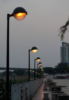 ◆HENGRI Lighting-street lighting projects Urban Furniture, Light Project, Lawn, Cities, Lights, Street, Projects, Floor Standing Lamps, Street Furniture
