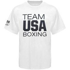 USA Boxing Basic T-Shirt - White