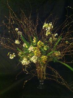 Winter/Spring arrangement by Emily Thompson Flowers