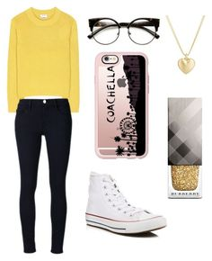 """""""Sans titre #997"""" by merveille67120 ❤ liked on Polyvore featuring Acne Studios, Frame Denim, Converse, ZeroUV, Casetify, Finn and Burberry"""