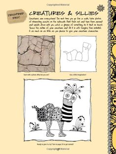 The Art of Zentangle: 50 inspiring drawings, designs & ideas for the meditative artist: Margaret Bremner, Norma J. Burnell, Penny Raile, Lar...
