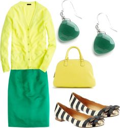 """""""Emerald + Tender Shoots"""" by kluster on Polyvore"""