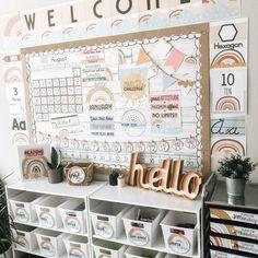Elementary Classroom Themes, Kindergarten Classroom Decor, Classroom Decor Themes, First Grade Classroom, Classroom Design, Future Classroom, Classroom Ideas, Classroom Organization, Primary Classroom Displays