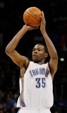 Best scorer in the league, Kevin Durant- OKC Thunder