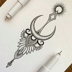 Résultats de recherche d'images pour « lotus flower drawing moon »