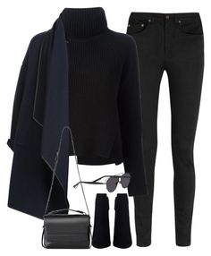 """Untitled#3653"" by fashionnfacts ❤ liked on Polyvore featuring Yves Saint Laurent, Proenza Schouler, Burberry, AllSaints and Christian Dior"
