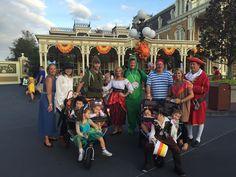 PHOTOS: Top 20 Disney costumes from last night's Mickey's Not So Scary Halloween Party Disney Cosplay Costumes, Disney Halloween Costumes, Halloween Party, Walt Disney World, Celebrities, Magic, Tops, Photos, Celebs