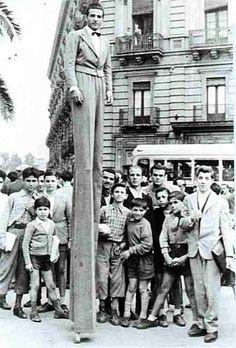 Vatican Stilt Walker