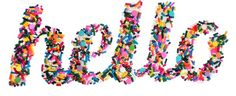 typeography sprinkles - Google Search