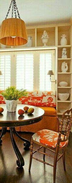 Orange Home Decor, Fall Home Decor, Autumn Home, Orange House, Country Charm, Interiordesign, House Colors, Carrot, Furniture