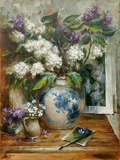 Art painting wonderful style by Rozhansky Anatoliy .. Essen, Germany