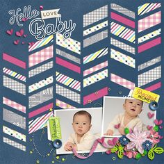 Template : Paper Play 10 by Akizo Designs Kit : Oh Baby Collection by Akizo Designs http://www.thedigichick.com/shop/Akizo-Designs/ Photography by acworks