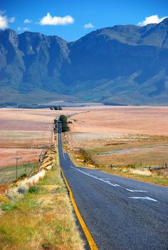 A landscape in the Overberg, South Africa. BelAfrique your personal travel planner - www.BelAfrique.com