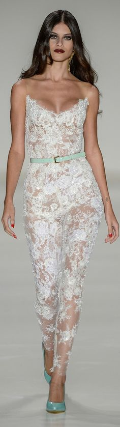 Samuel Cirnansck RTW Summer 2015 ~ Sao Paulo... You know with a silk lining underneath so your not naked.