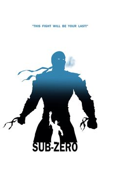 Sub-Zero - This Fight Will Be Your Last by Steve Garcia Sub Zero Mortal Kombat, Mortal Kombat Art, Kung Jin, Superhero Silhouette, Comic Art, Comic Books, Stencil, Mileena, Silhouette