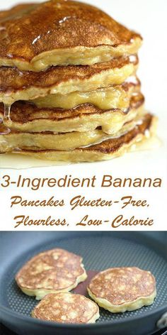 Banana Pancakes Glueten-Free, Flourless, Low-Calorie - Hot From My . - Clorie Recipes Banana Pancakes Glueten-Free, Flourless, Low-Calorie - Hot From My . Pancakes Low Calorie, Filling Low Calorie Meals, Low Calorie Meal Plans, Pancake Calories, Healthy Low Calorie Meals, No Calorie Foods, Low Calorie Recipes, Healthy Banana Pancakes, Flourless Banana Pancakes