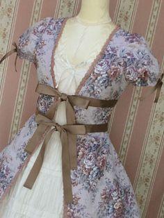 Classical Bouquet Overdress, Victorian maiden