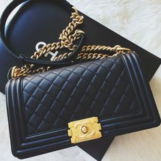chanel boy bag, loveee