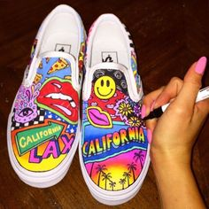 42 Best Custom Painted Vans images  f4eb44efd57