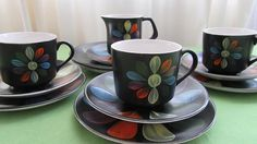 Colour, Mugs, Unique Jewelry, Tableware, Handmade Gifts, Etsy, Vintage, Color, Kid Craft Gifts
