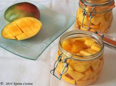 Karine Cuisine: La mangue au sirop d'épices #mangue #épices