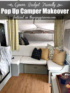 Gwen and her family completely transformed their tired pop up camper on a small budget. With a little hard work, they have a custom trailer they can enjoy.