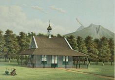 Josias Cornelis Rappard (1824-1898) - Sebuah gereja di Salatiga